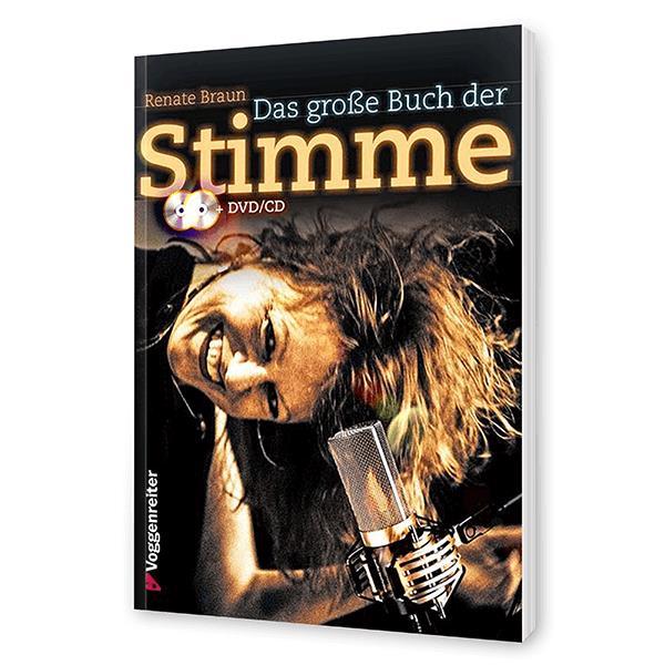 Das große Buch der Stimme - Lehrbuch incl. CD/DVD