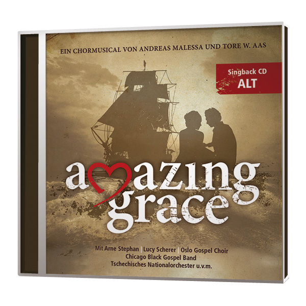 Amazing Grace - Singback-CD - Alt