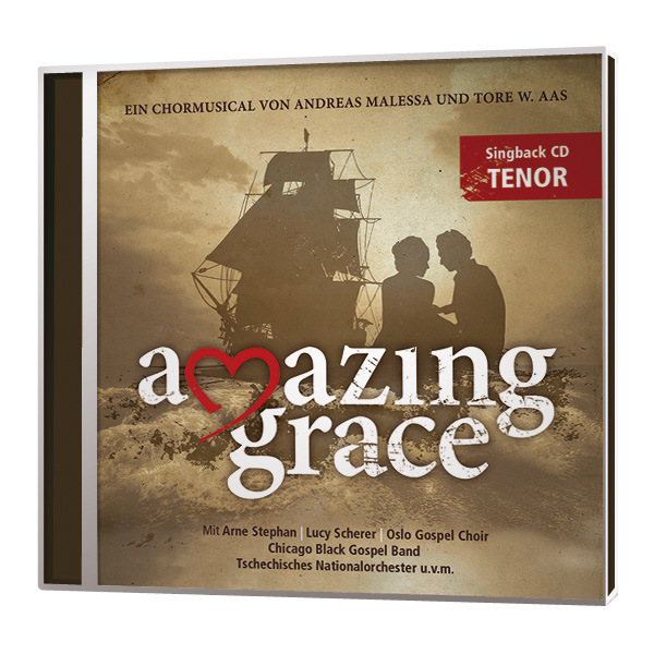 Amazing Grace - Singback-CD - Tenor