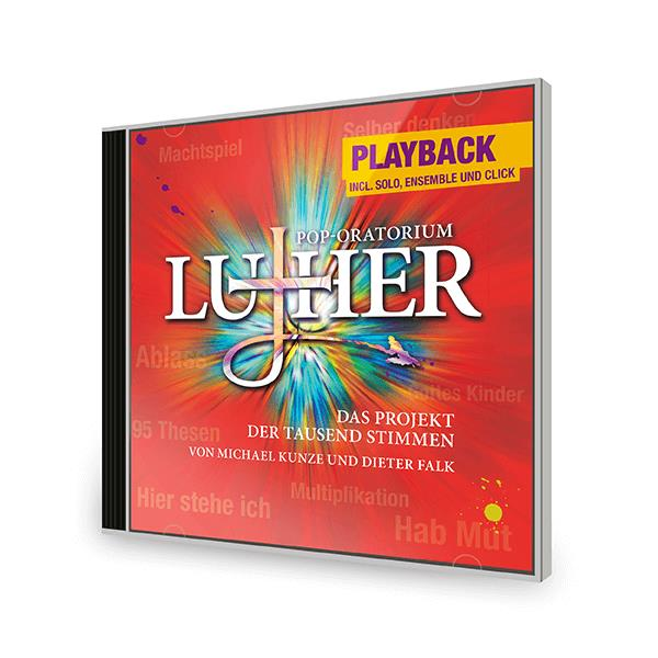 Luther - Playback Doppel-CD incl. Solisten und Click