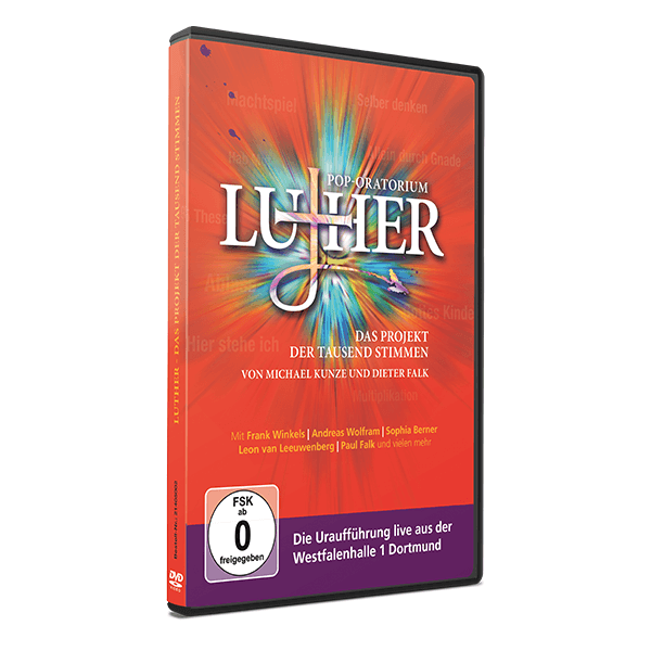Pop-Oratorium Luther - Live DVD