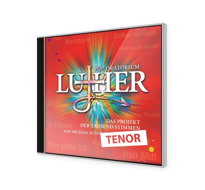 Pop-Oratorium Luther - Übungs-CD - Tenor