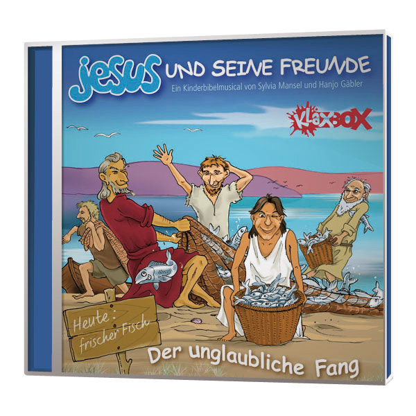 Jesus und seine Freunde – Der unglaubliche Fang CD