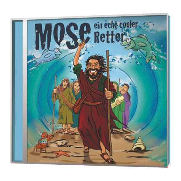 Mose – Ein echt cooler Retter  Liederheft