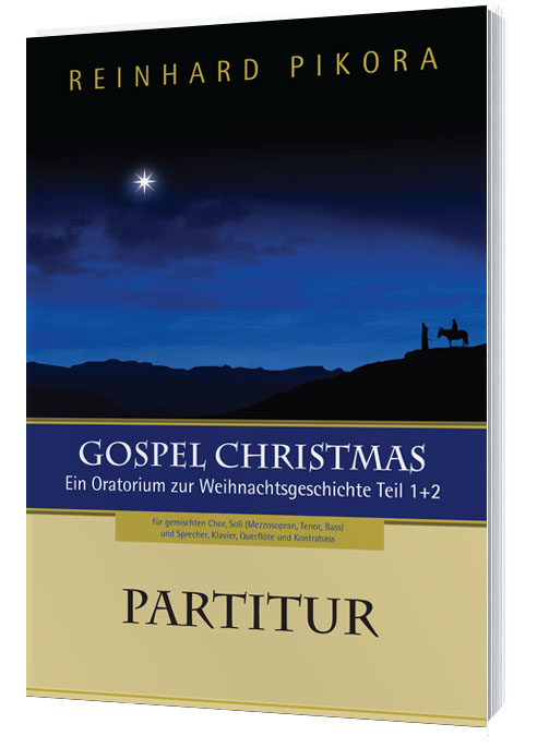 Gospel Christmas - Partitur