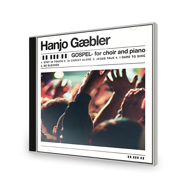 Hanjo Gäbler – Gospel for piano and choir CD