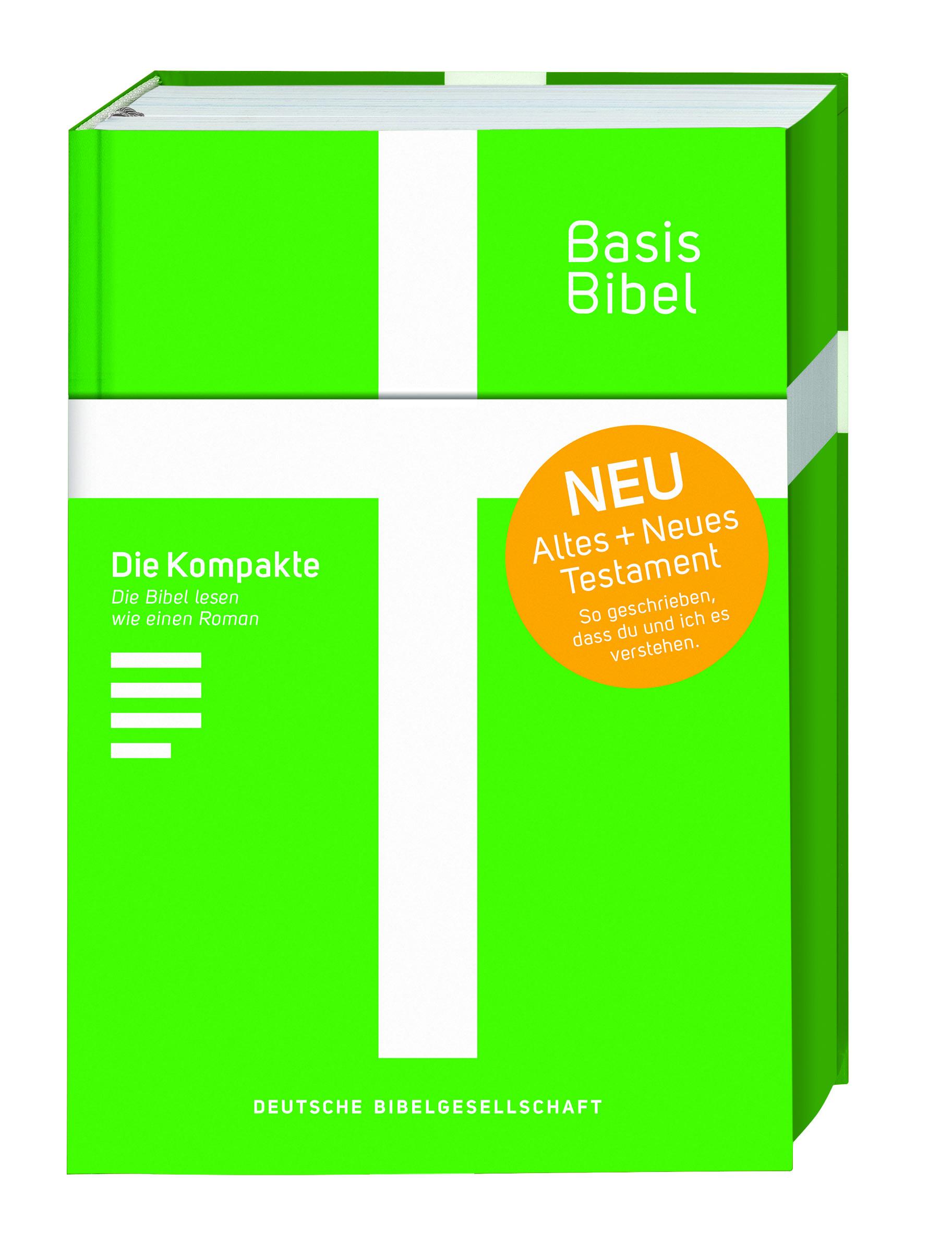 BasisBibel grün - Die Kompakte!
