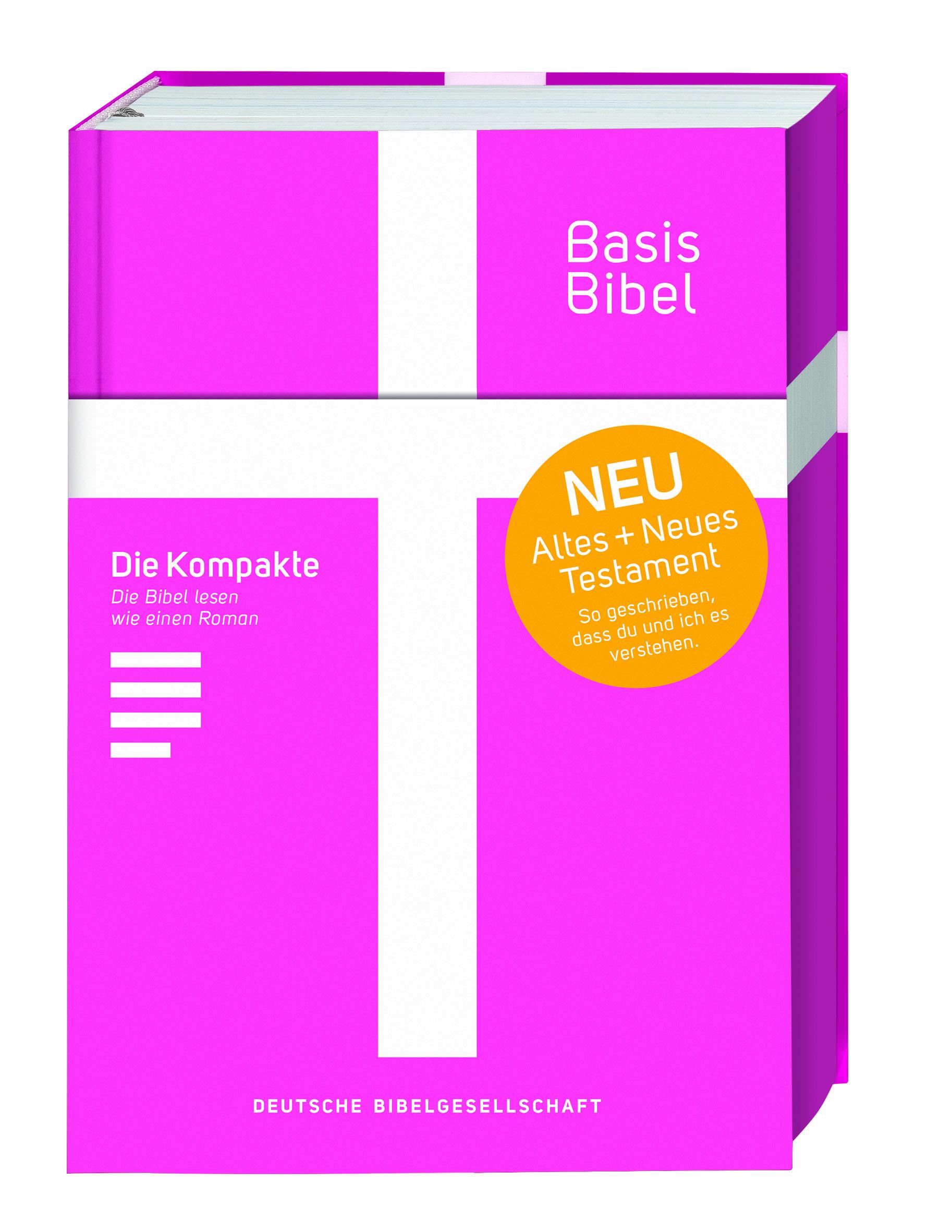 BasisBibel pink - Die Kompakte!