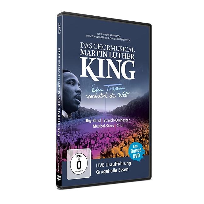Ein Traum verändert die Welt DAS CHORMUSICAL MARTIN LUTHER KING DVD