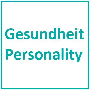 W11 - Gesundheit / Personality